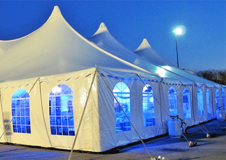 Canvas Tents for Sale in image