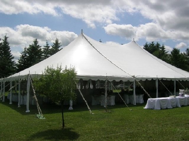 large Peg & Pole Tents