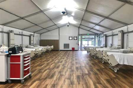 Covid 19 isolation Tents Manufacturers